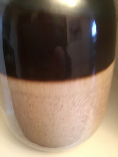 Vase en céramique vernisse