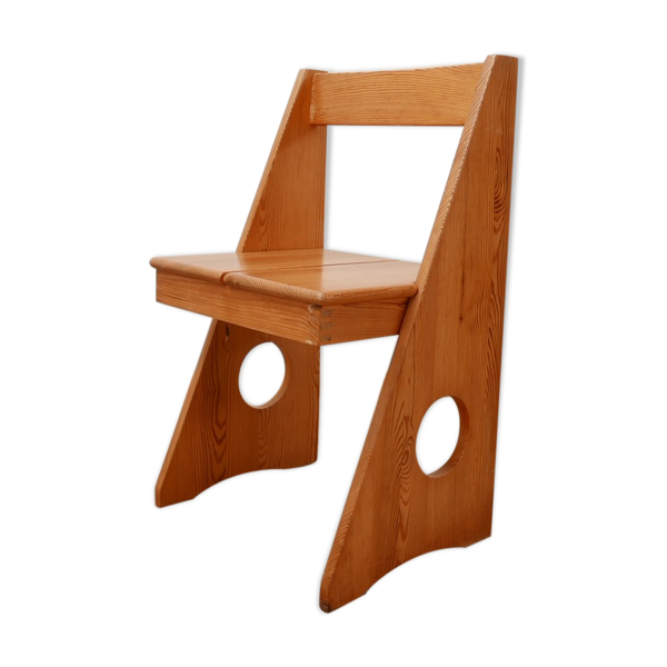 Chaise de bureau en pin Gilbert Marklund