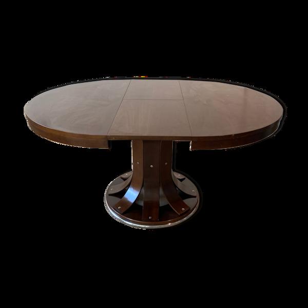 Selency Table à manger ronde et extensible