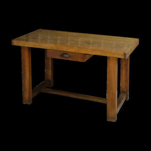 Table de cuisine ou billot en hêtre