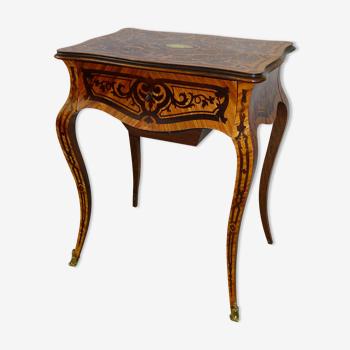 Table travailleuse d'époque napoléon III