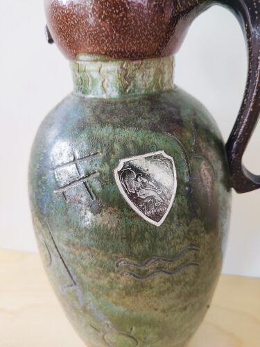 Vase Roger Guérin anthropomorphe grès 1940