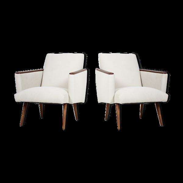 Paire de fauteuils Tchécoslovaquie