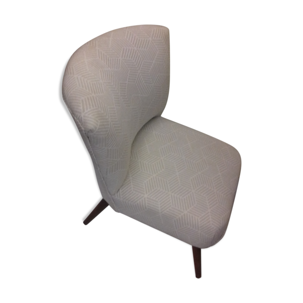 Fauteuil style fivty pieds compas