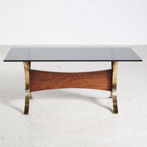 Table basse en palissandre