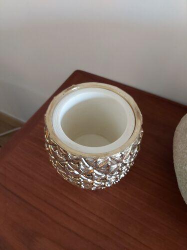 Mauro Manetti's golden metal ice bucket
