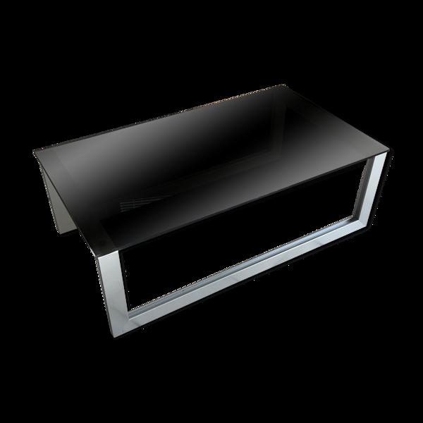 Table basse vintage design ligne roset 70/80