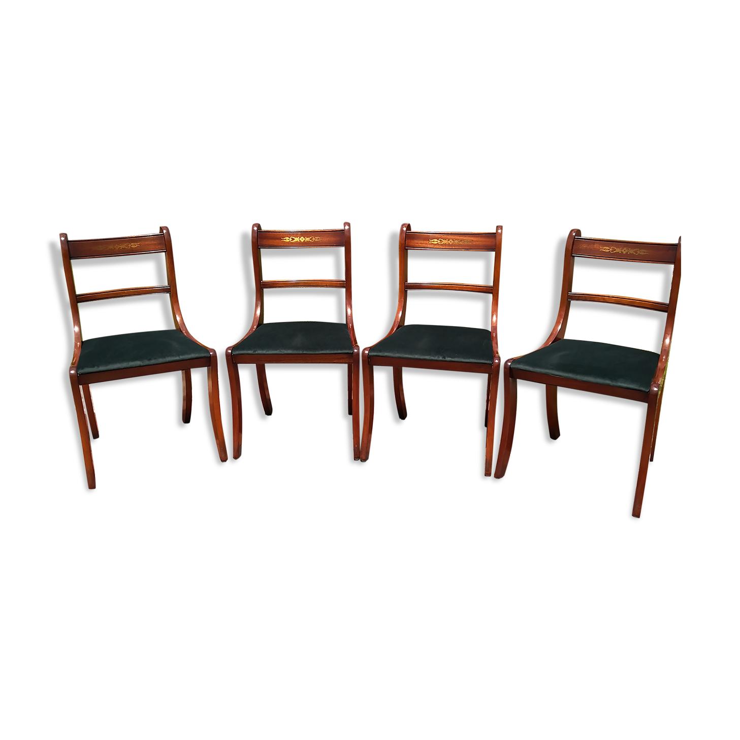 Ensemble de chaises de salle à manger classiques 4 pcs