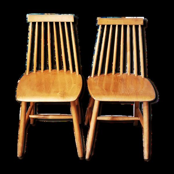2 chaises Stockholm