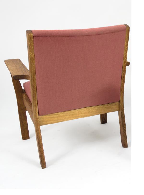 Paire fauteuils GE - 265 par Wegner Hans pour Getama 1950