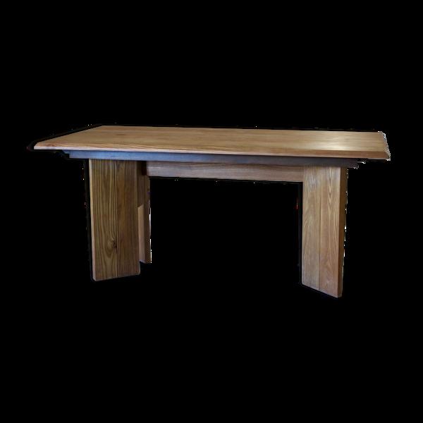 Selency Table en orme massif  huilé Maison Regain