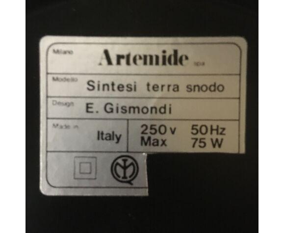 Artemide Terra Snodo par Ernesto Gismondi 1970