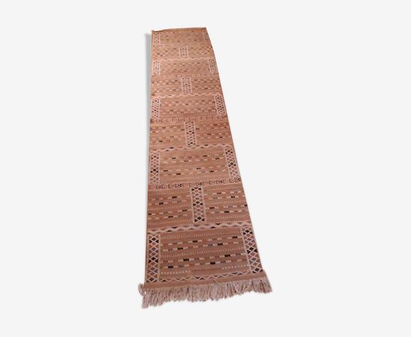 Tapis marocain de couloir en laine  63x295cm