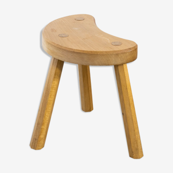 Tripod wooden stool