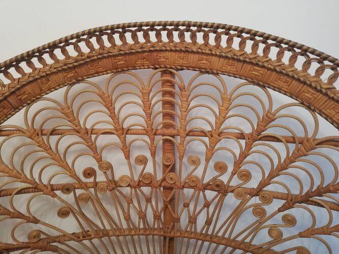 Fauteuil Emmanuelle peacock