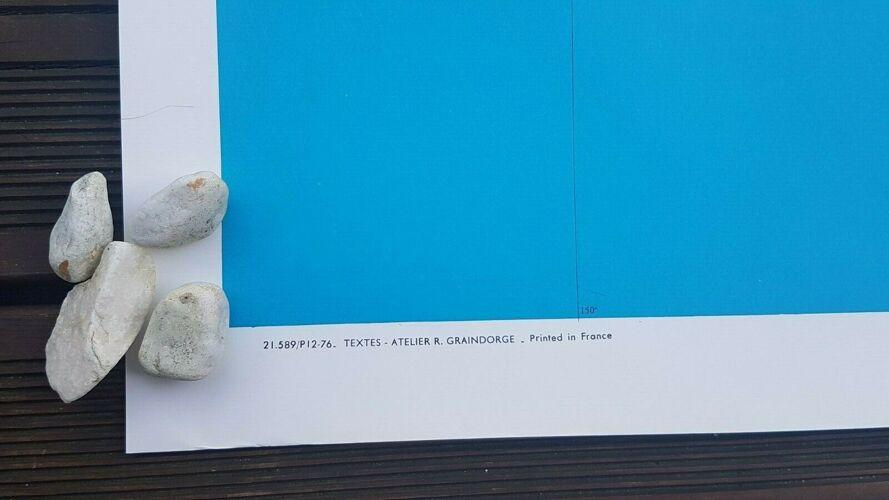Planisphère air France Graindorge Perceval carte collection Jean Masse