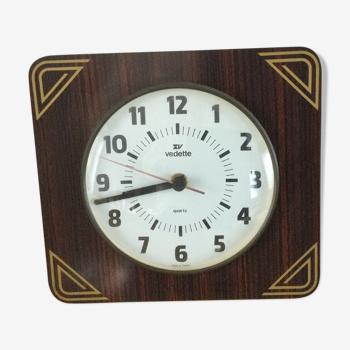 Pendule vintage en formica vedette