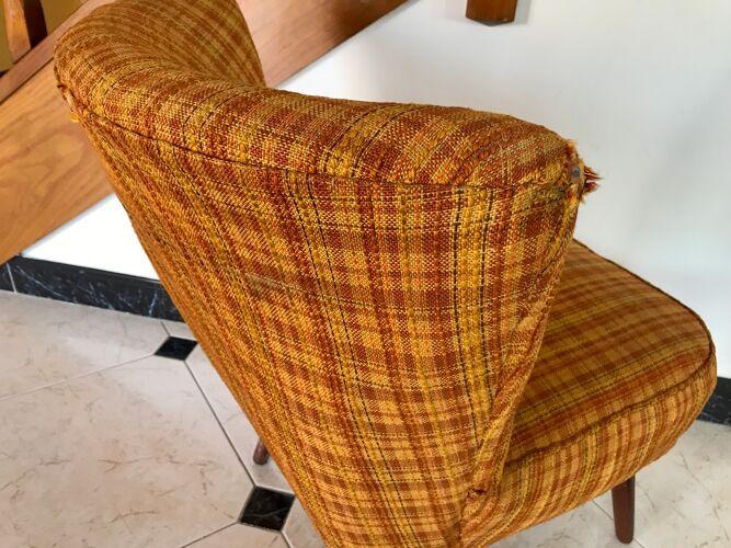 Pair of vintage Möbelstoff armchairs - 1960