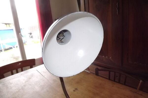 Lampe de Bureau Année 60 métal et chrome