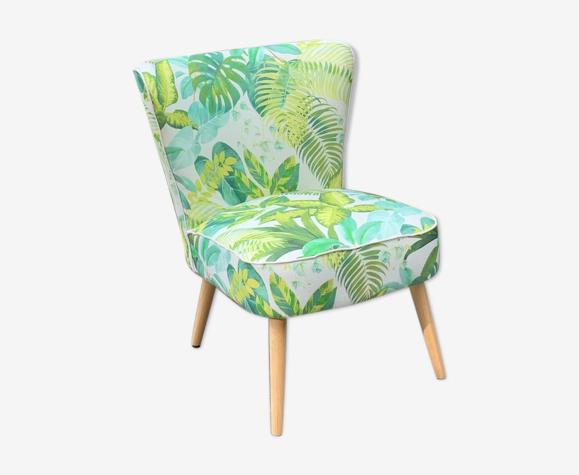 Cocktail foliage armchair