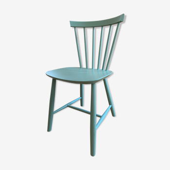 Chaise FDB Møbler J46 turquoise