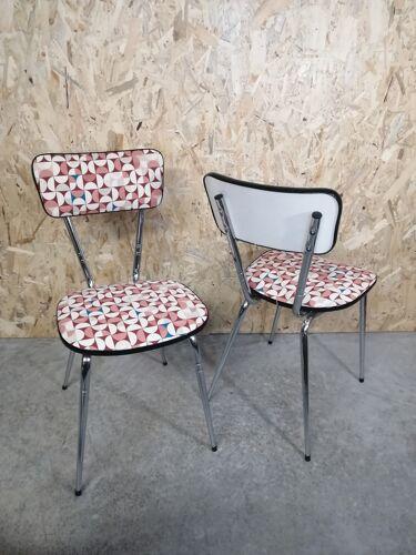Paire chaises vintage