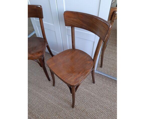 Paire de chaises bistrot Thonet