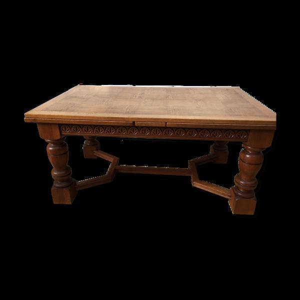 Table ancien étal de boulanger