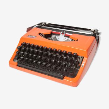 Machine à écrire brother 210 orange révisée et ruban neuf