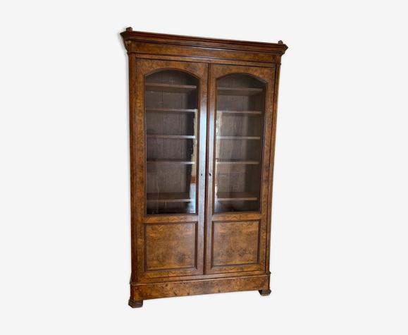 Armoire vitrine ancienne