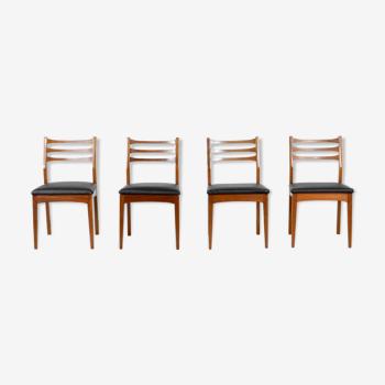 Ensemble de 4 chaises en teck «Meredew»