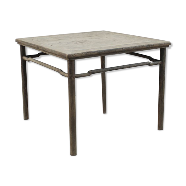 Selency Table ancienne en orme, Chine 18e