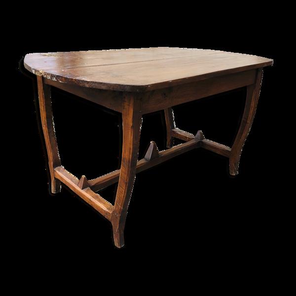 Table Art Deco avec pieds ovales