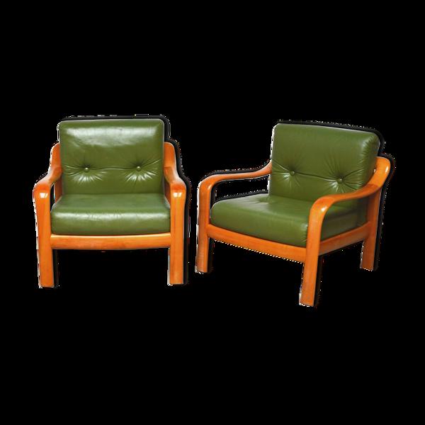 Paire de fauteuils Wilhelm Knoll 1960