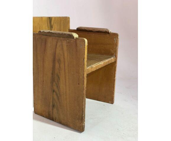 Fauteuil enfant en bois