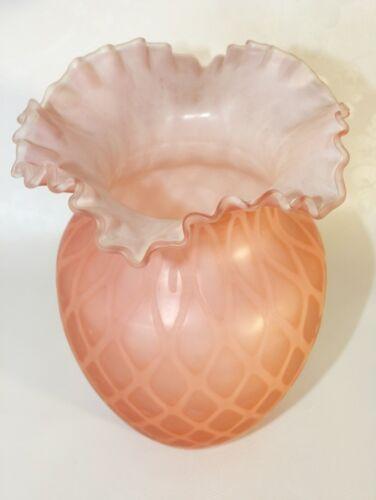 Vase rose Art nouveau Lenora