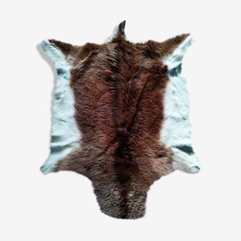 Tapis peau de chèvre 114 X 90 cm