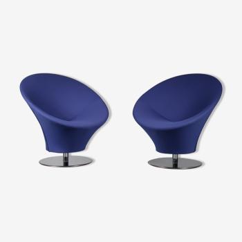 Années 1980 Paire de chaises , Pays-Bas