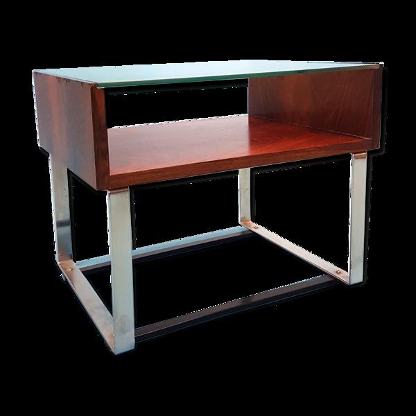 Table d'appoint en bois de rose 1960