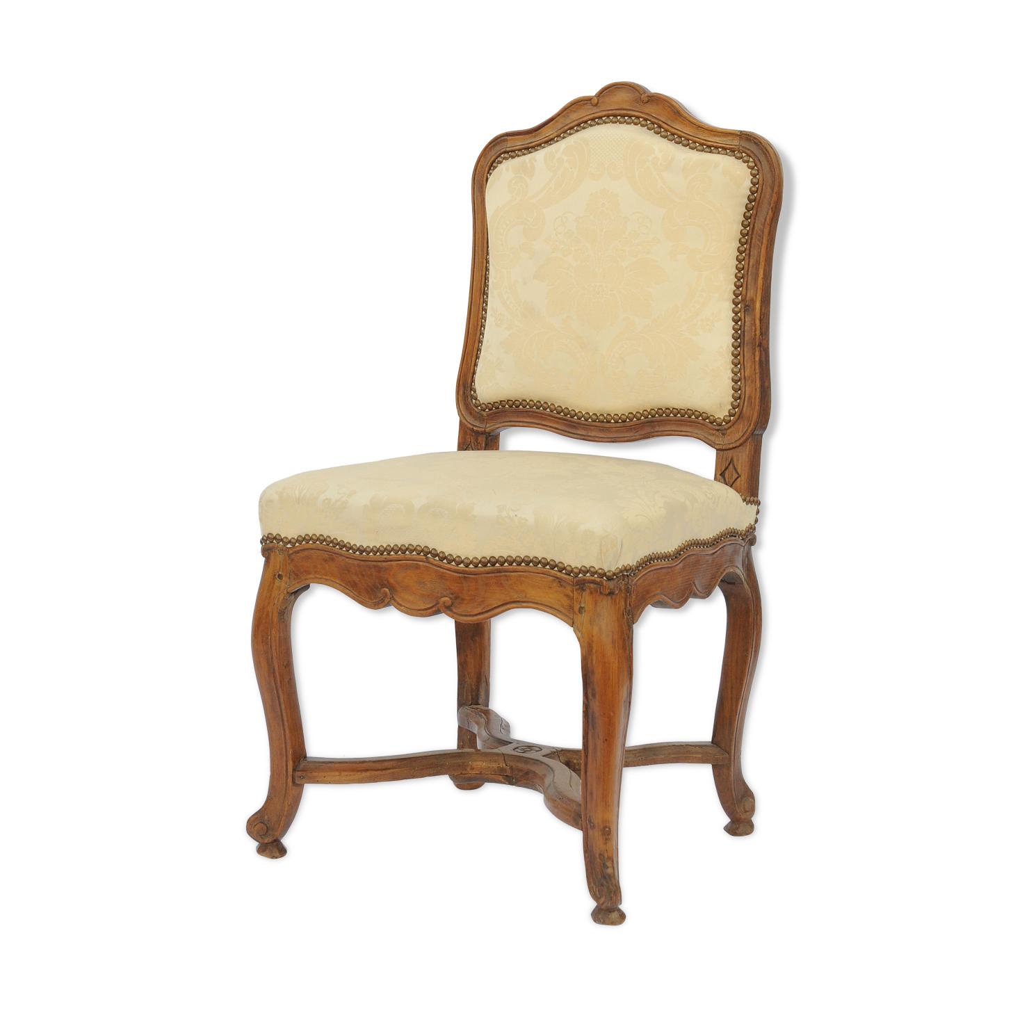 Chaise en bois naturel