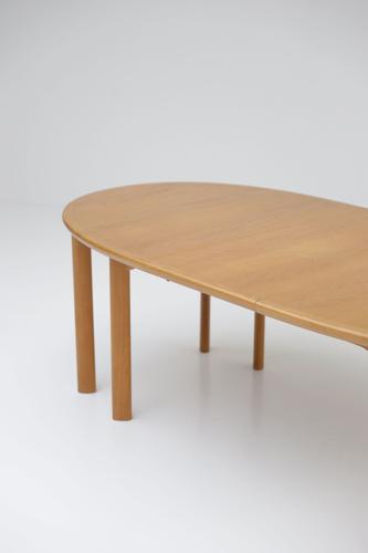 Table à manger extensible par Van Den Berghe Pauvers