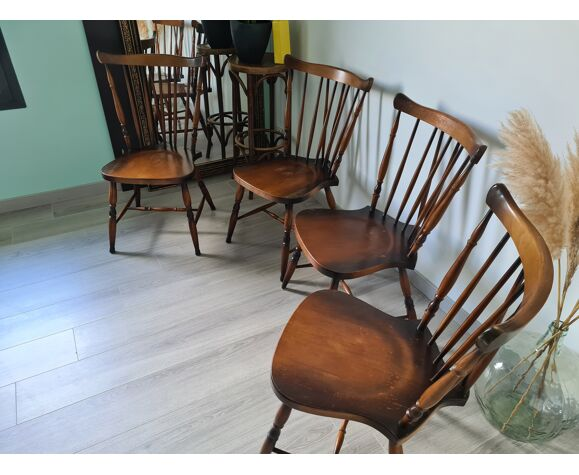Chaise de bistrot anglaise vintage