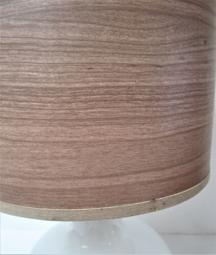 Lampe verre de Murano blanc bullé brillant vintage