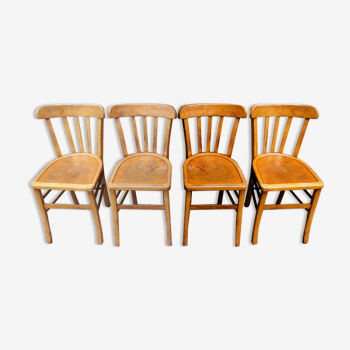 Bistro chairs, batch of 4