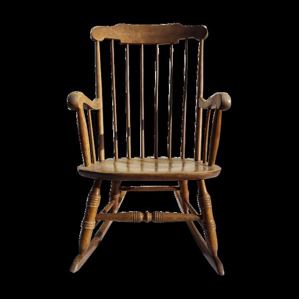 Rocking-chair ateliers Stol à Kamnik 1960
