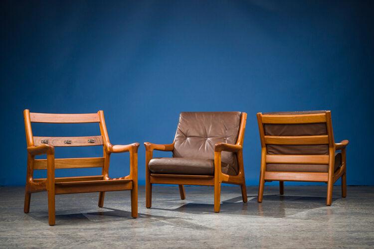 Salon par Gustav Thams pour Vejen Polstermøbelfabrik