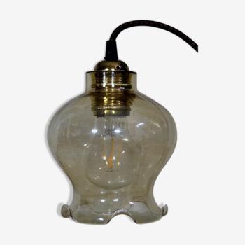 Baladeuse vintage années 50 - globe vintage en verre