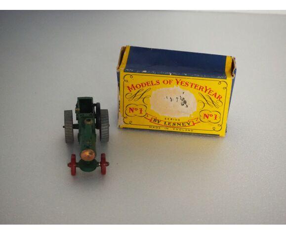Maquette du moteur de traction allchin 7-n.h.p, Matchbox Models Of Yesteryear No.1 -
