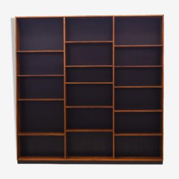 Bibliothèque en bois de rose, design danois, années 1970, fabricant: Danemark