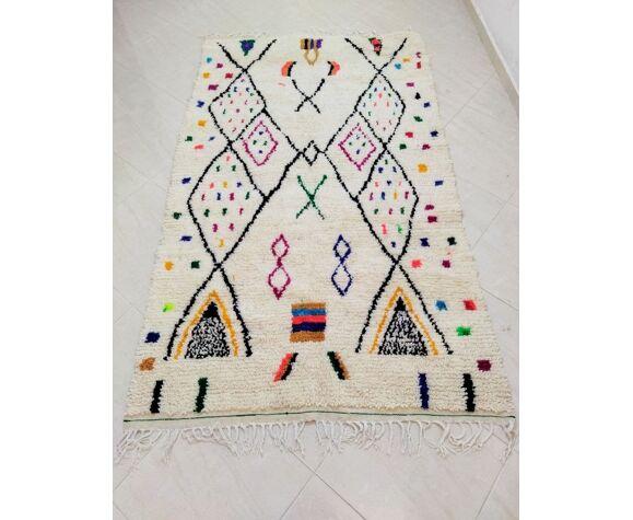 Tapis berbère  la croix 244 x 145 cm